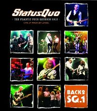 Cover Status Quo - Back2SQ.1 - The Frantic Four Reunion 2013 - Live At Wembley Arena [DVD]